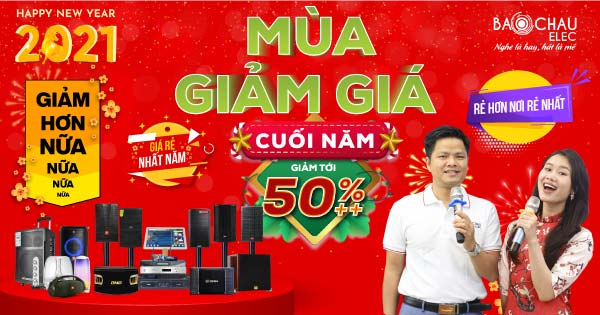 Mùa Giảm Giá Cuối Năm - Khuyến mãi Noel, chào đón năm mới giảm tới 50%