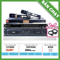 Combo KM11 (SAE CT3000 + Bksound DSP-9000 + BBS B900)