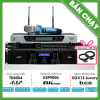 Combo KM13 (AAP TD6004 + Bksound DSP-9000 + BCE UGX12 Luxury)