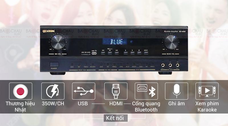 Ampli BIK BJ-A88 hiện đại, chính hãng