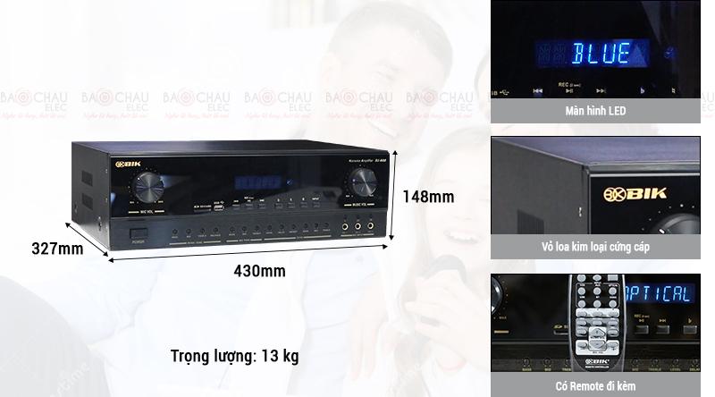 Amply BIK BJ-A88 chính hãng giá rẻ