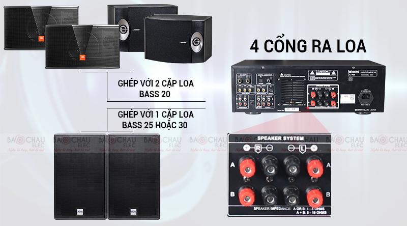 Amply karaoke AV BIK BJ-A88 (2020)