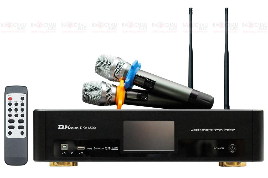 Digital Karaoke Power Amplifier BKSound DKA 8500 hiện đại nhât
