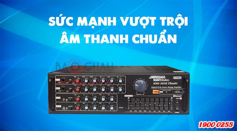 Amply karaoke Jarguar Suhyoung KMS-303E Classic: sức mạnh vượt trội