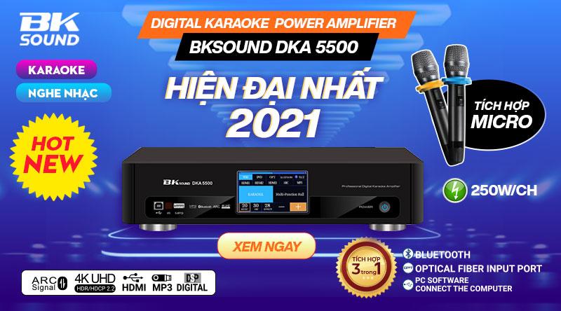 Digital Karaoke Power Amplifier BKSound DKA 5500