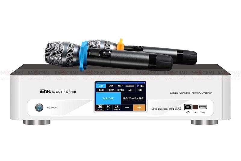 Digital Karaoke Power Amplifier BKSound DKA 6500 hiện đại nhất