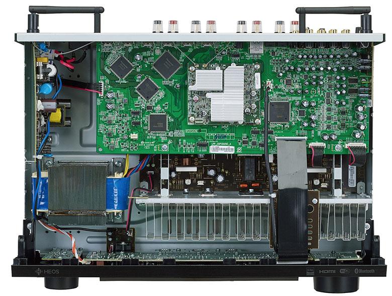Ampli Denon DRA-800H linh kiện hiện đại