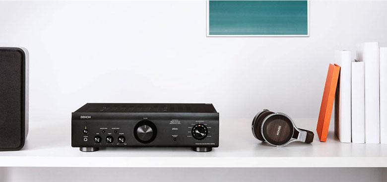 Amply Denon PMA-600NE tái tạo âm thanh chân thực