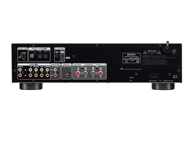 Amply Denon PMA-600NE cấu hình hiện đại