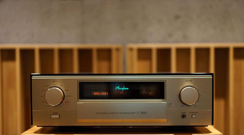 Pre-ampli Accuphase C3850 chính hãng