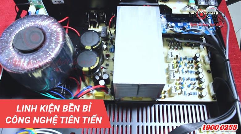 Công nghệ xử lý tín hiệu Echo DSP của amply JBL KAR3502