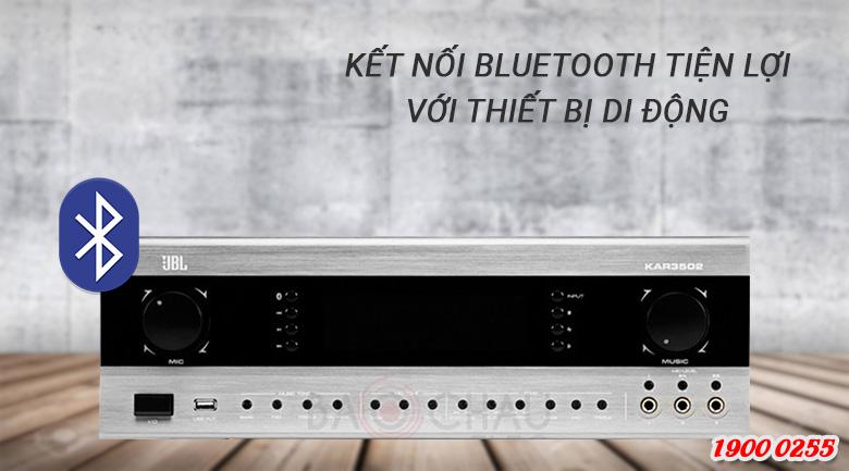 Amply JBL KAR3502 Kết nối Bluetooth thông minh