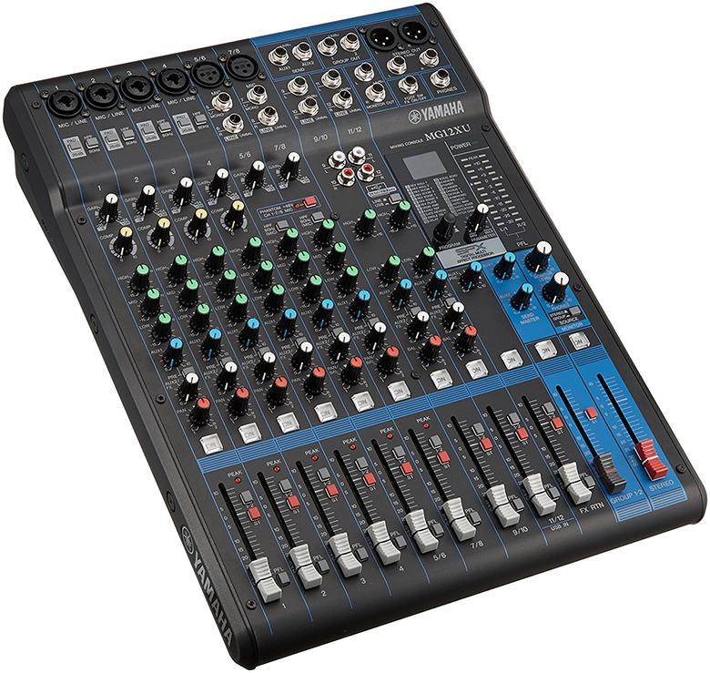 Bàn mixer Yamaha MG12XU dễ dàng phối ghép nhiều sản phẩm
