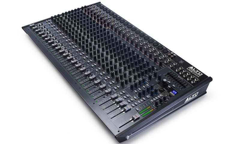 Bàn mixer Alto Live 2404 (24kênh/4bus) thiết kế rõ nét, chi tiết