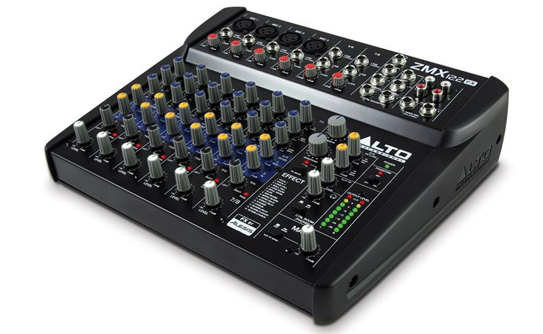 Bàn mixer mini Alto ZMX122FX độ ồn thấp, tính ứng dụng cao