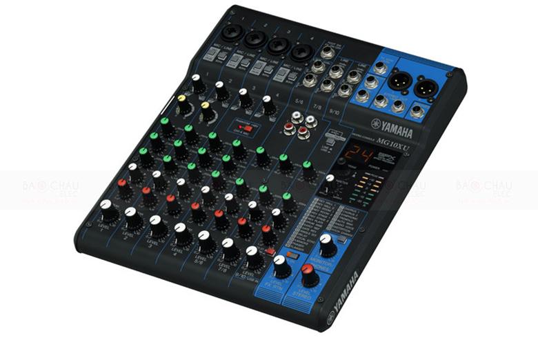 Bàn mixer Yamaha MG10XU với thiết kế vượt trội