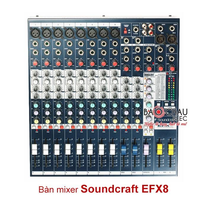 Bàn mixer Soundcraft tính năng nổi bật