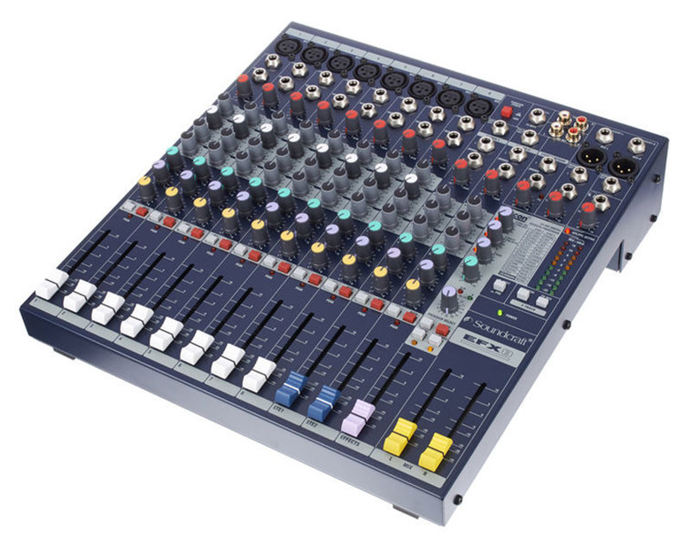 Bàn mixer Soundcraft hiện đại, chính hãng