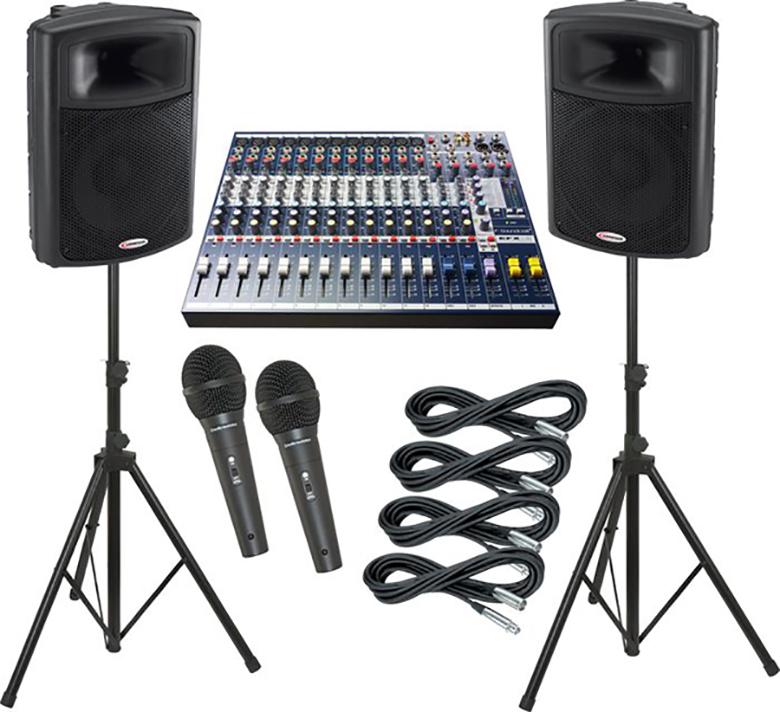 Bàn mixer SOUNDCRAFT EFX12 có tính ứng dụng cao