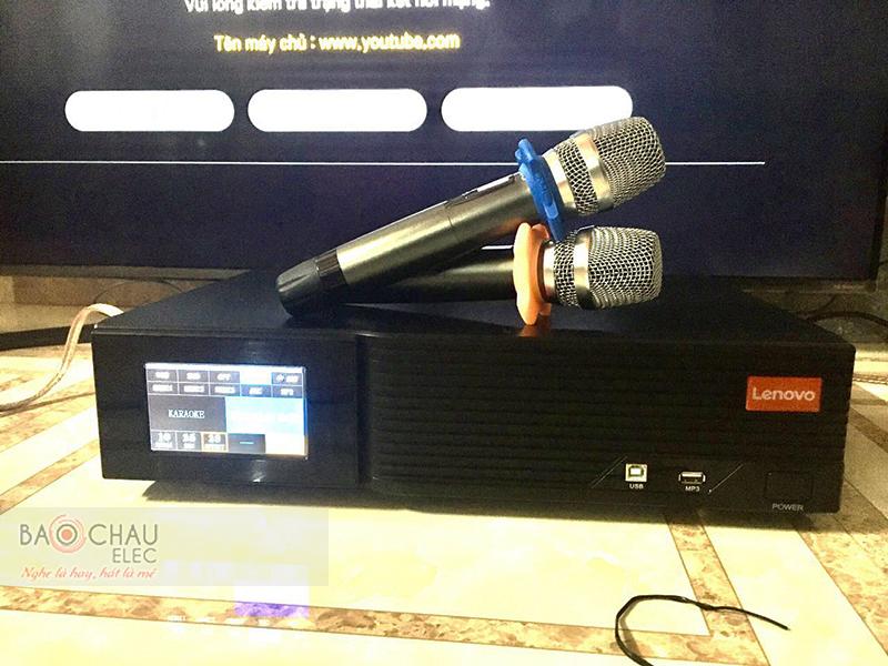 Dàn karaoke gia đình anh Quân h3