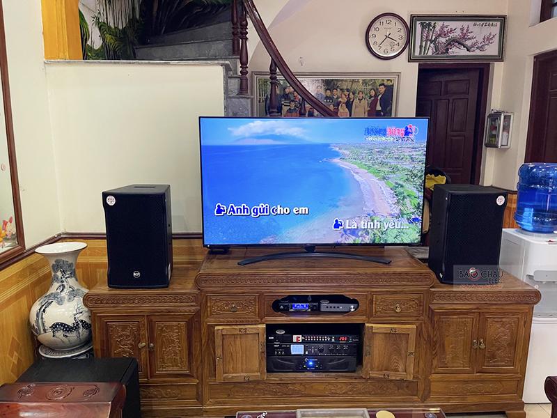 Dàn karaoke gia đình anh Thắng tại Bắc Giang