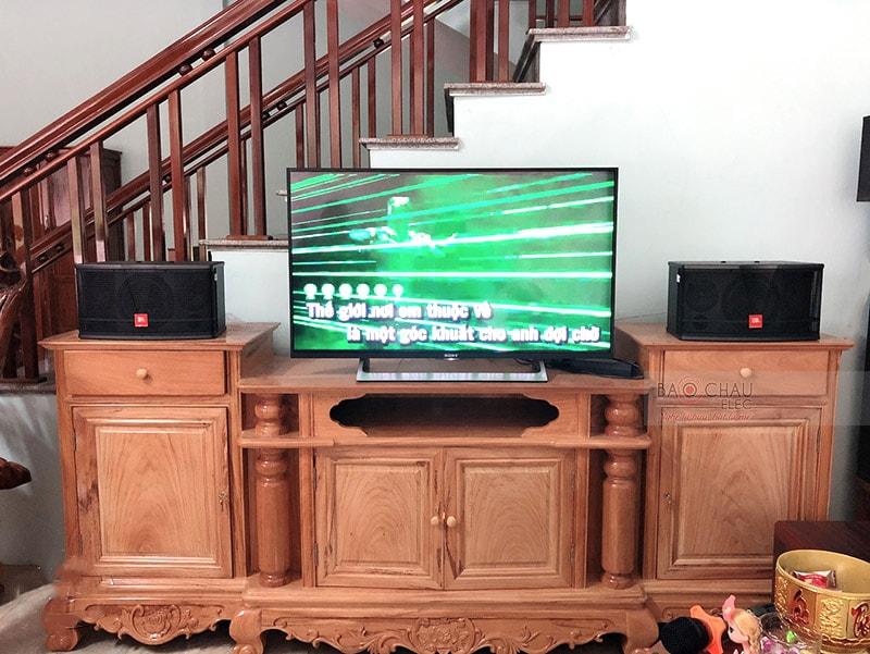 Dàn karaoke gia đình anh Đình Anh ở Bắc Kạn h6
