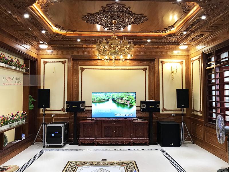 Dàn karaoke gia đình anh Đạo tại Bắc Ninh