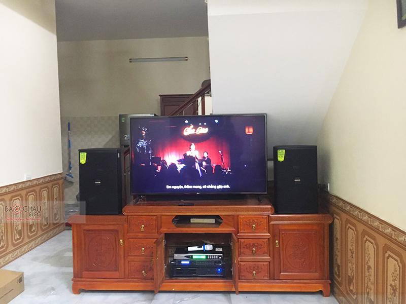 Dàn karaoke gia đình anh Tú tại Bắc Ninh