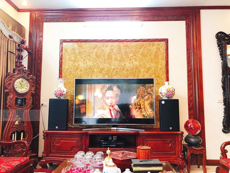 Dàn karaoke gia đình chị Mai tại Bắc Ninh