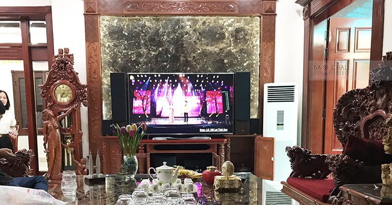 Dàn nghe nhạc gia đình anh Trung ở Ninh Xá, Bắc Ninh