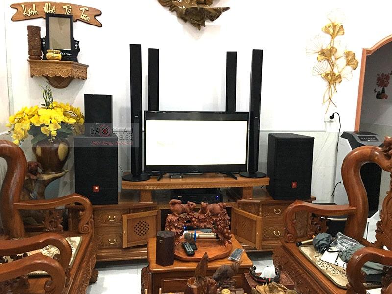 dàn karaoke gia đình anh Ngọc ở Trảng Dài h6