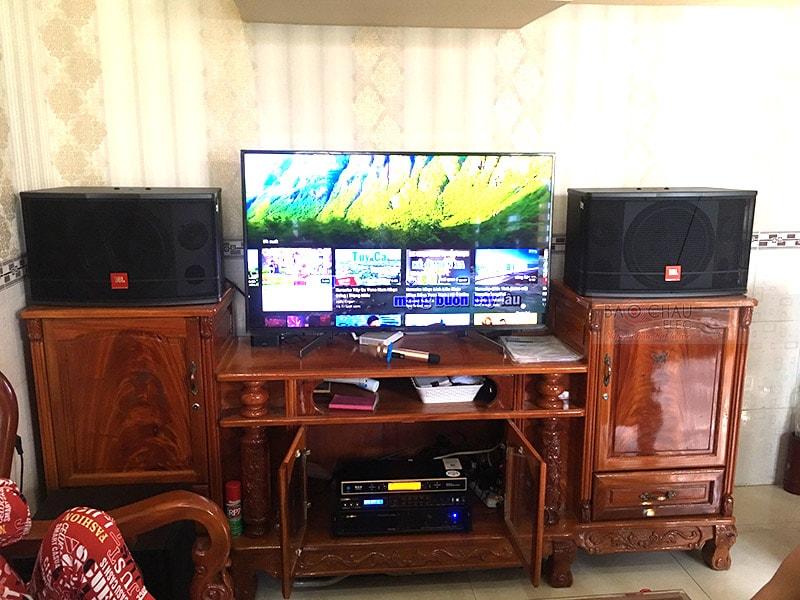 Dàn karaoke gia đình anh Châu ở Biên Hòa h4