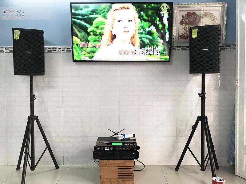 Dàn karaoke gia đình anh Hiệp tại Đồng Nai