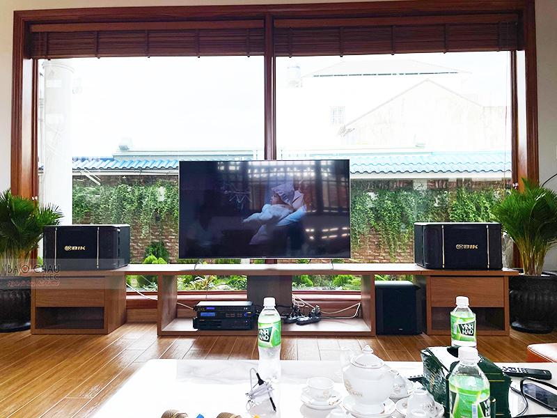 Dàn karaoke gia đình anh Hùng tại Đồng Nai