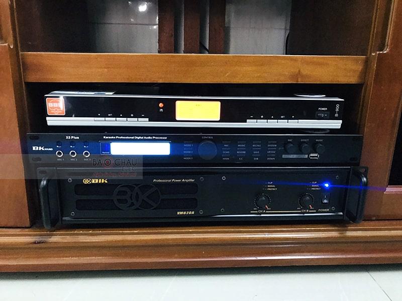 Sử dụng Vang số BKsound X5 Plus trong bộ dàn của anh Sáng tại Đồng Nai