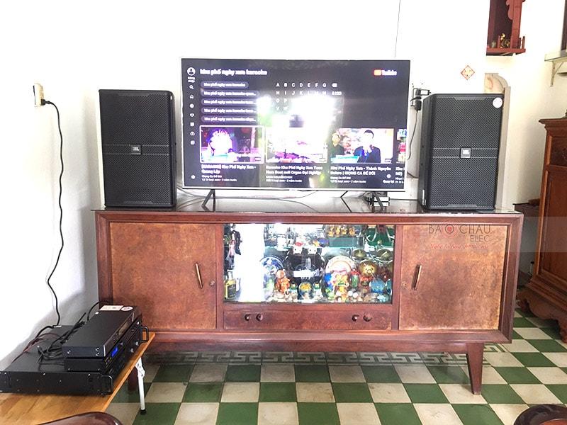 Dàn karaoke gia đình anh Trâm ở Biên Hòa, Đồng Nai
