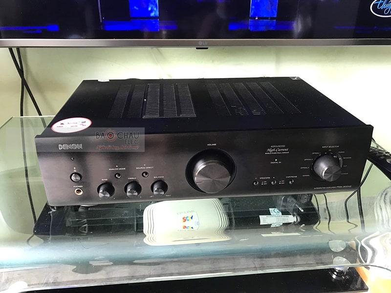 Amply Denon PMA 1600NE lắp đặt trong bộ dàn nghe nhạc
