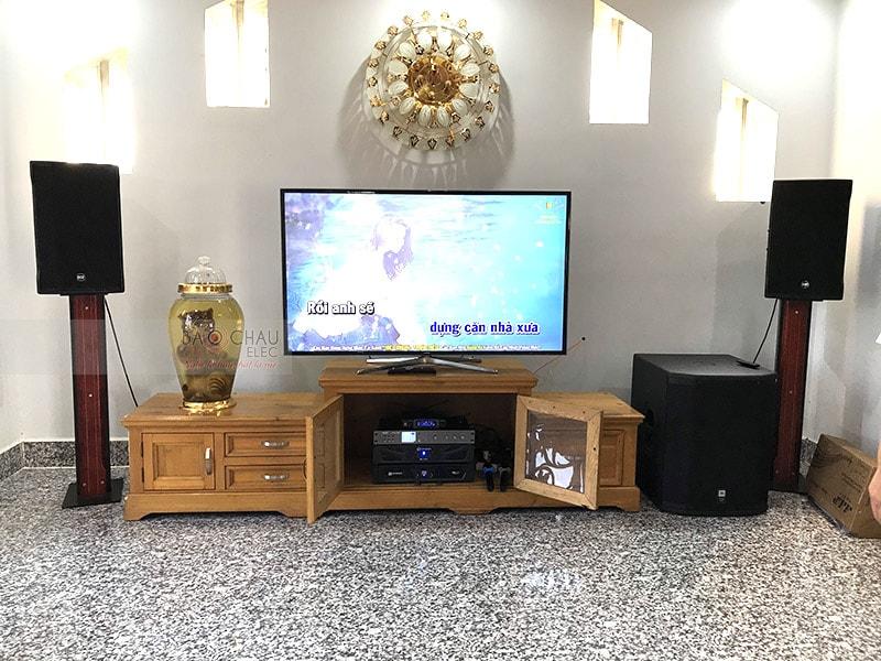 Dàn karaoke vip của gia đình anh Tuấn h5