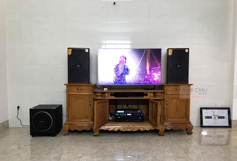 Dàn karaoke gia đình anh Hiệp tại Bình Dương