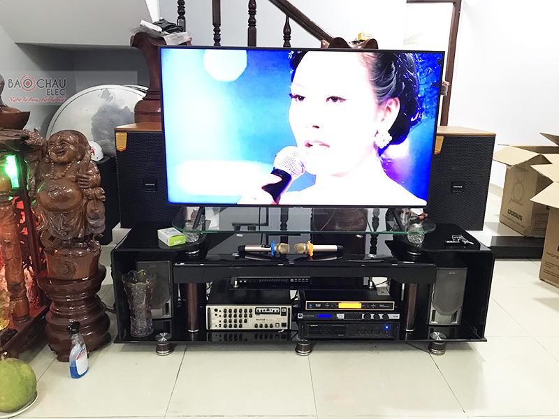 Dàn karaoke gia đình cho anh Hoãn tại Bình Dương