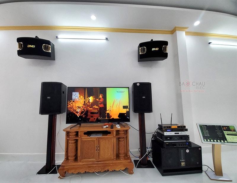 Dàn karaoke cao cấp cho gia đình anh Cần ở Cái Răng h8