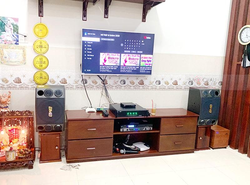 dàn karaoke gia đình anh Đệ ở Ninh Kiều, Cần Thơ h3