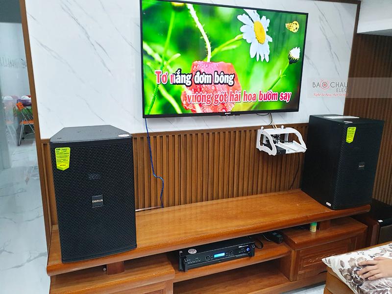 dàn karaoke gia đình anh Đỗ tại Đà Nẵng
