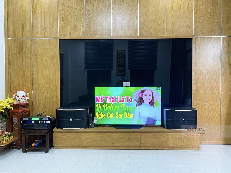 Dàn karaoke gia đình anh Nam h4