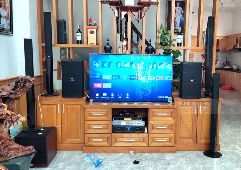 Dàn karaoke JBL gia đình anh Tuyền ở Bình Chánh h5
