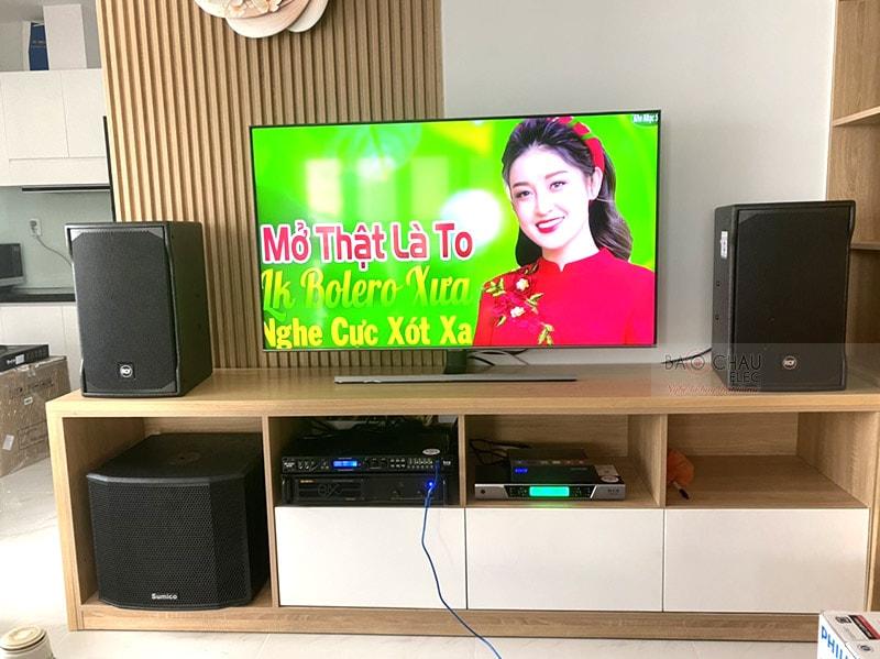 Dàn karaoke gia đình anh Hoàng ở Bình Thạnh h5