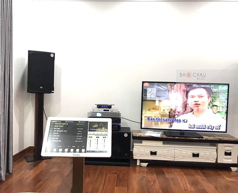 Dàn karaoke gia đình anh Trí ở quận 7, HCM h3