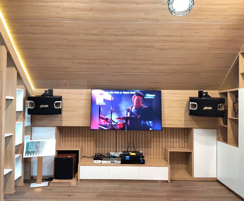 Dàn karaoke cao cấp gia đình anh Ngàn ở Thủ Đức h6