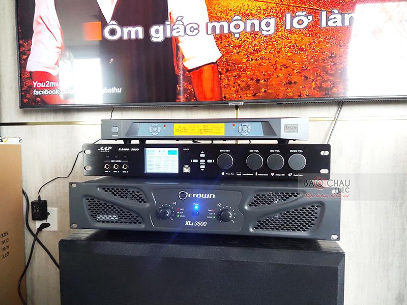 Dàn karaoke gia đình anh Hồ h3