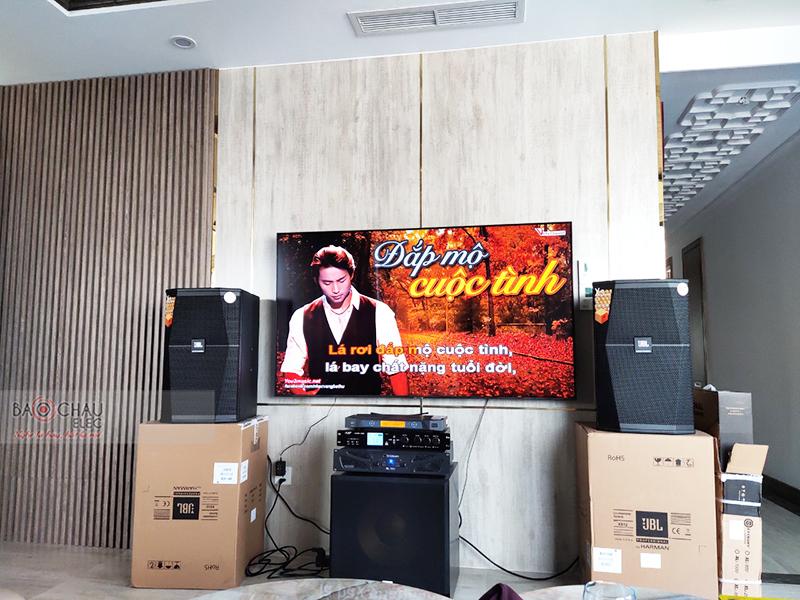 Dàn karaoke gia đình anh Hồ h5